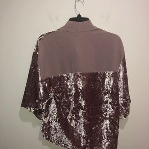Zara Other - Zara Collection Size M Short Velvet Open Kimono